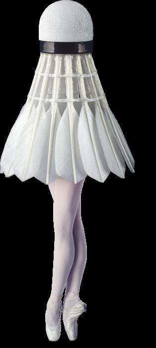 Shuttlecock Ballerina (1)